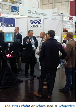 Xiris displayed its advanced camera technology at Schweissen