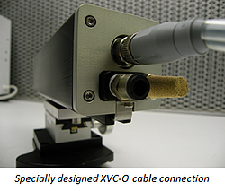 Cable connection for Xiris XVC-O Weld Camera with High Dynamic Range imaging