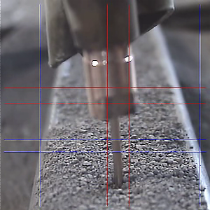 Image from the Xiris XVC-O Weld Camera