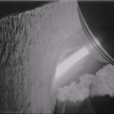 April_14__View_of_the_Plasma_Arc_Cuttling_Line_and_Melted_Kerf