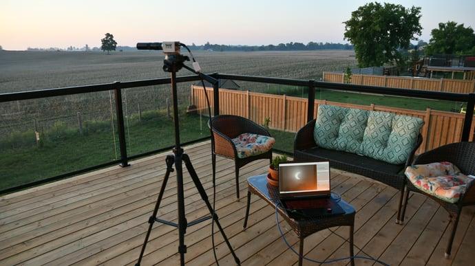 Weld Camera Setup