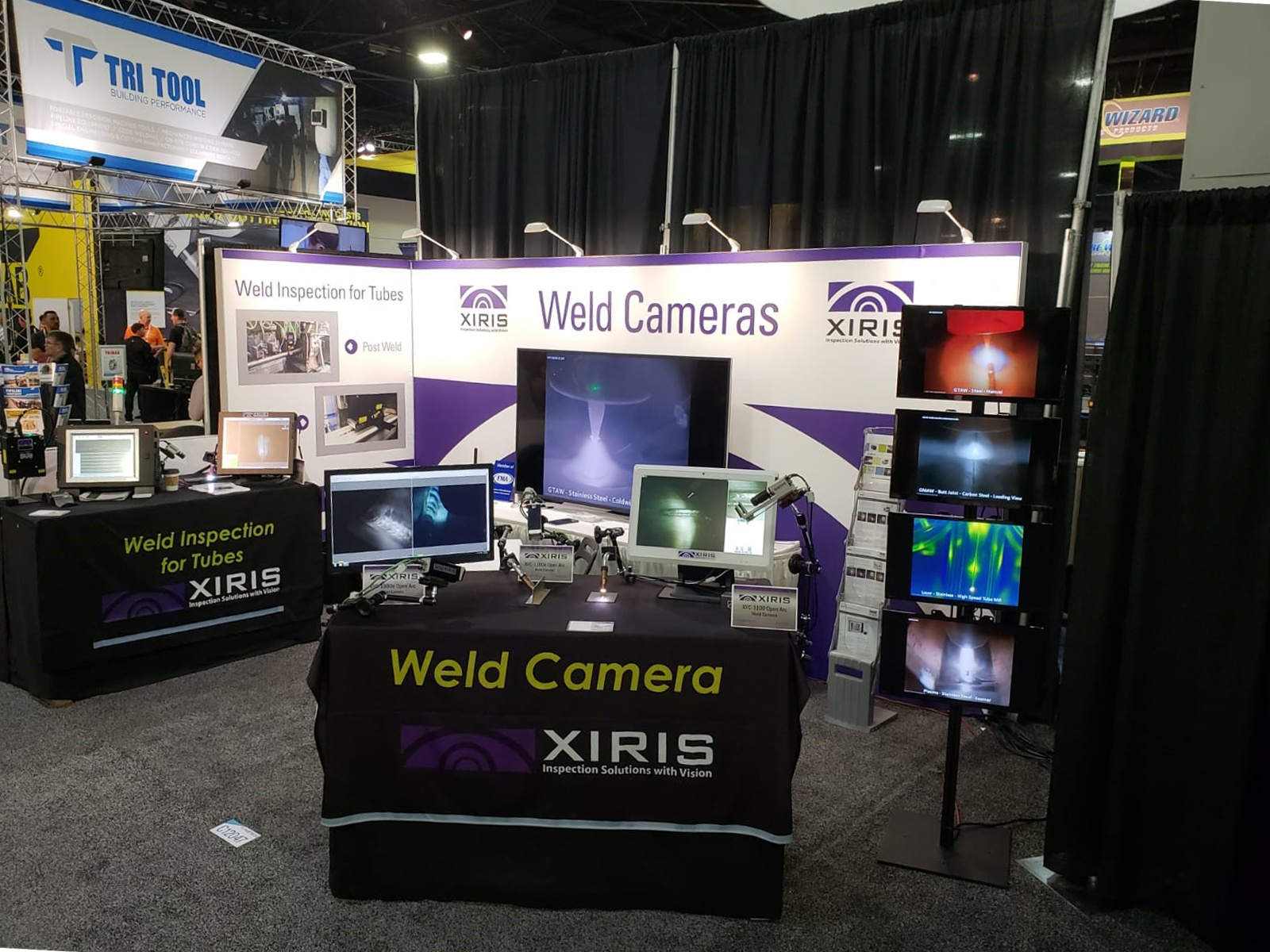 Xiris Booth at Fabtech 2018
