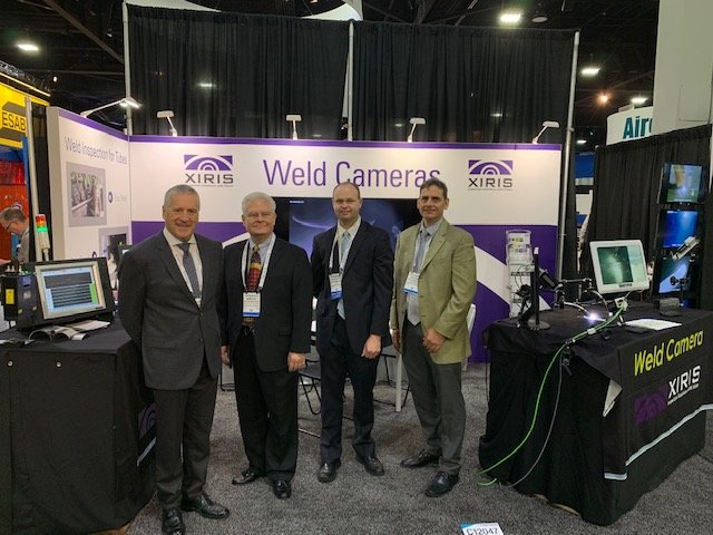 Xiris Team at Fabtech 2018