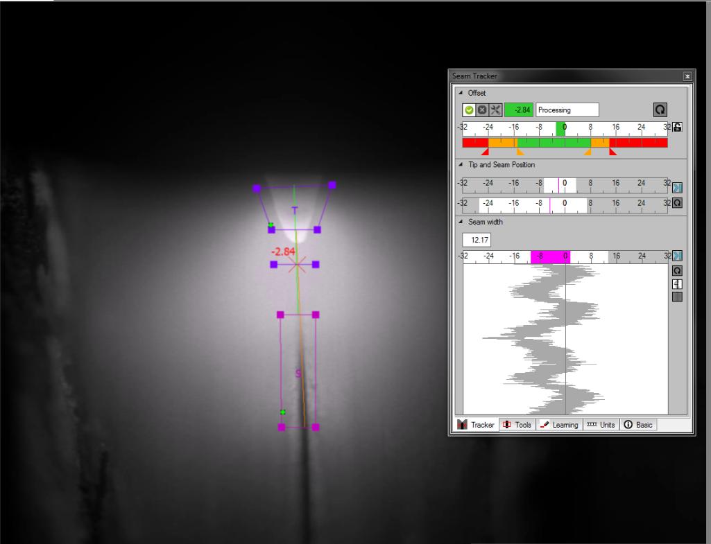 XVC-1000e with Seam Tracker Software