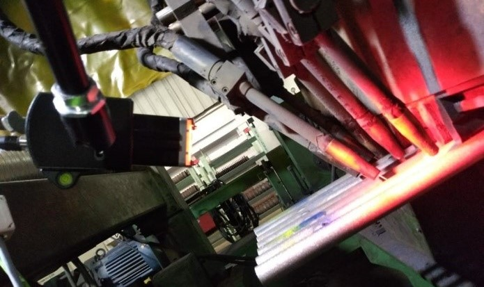 monitoring welds on weld panel membranes