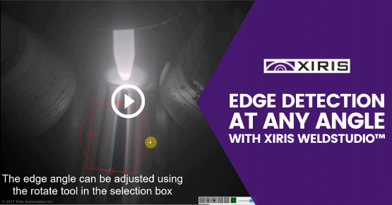Edge Detection at Any Angle with Xiris WeldStudio™