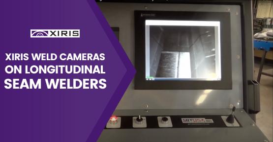 Xiris Weld Cameras on Longitudinal Seam Welders